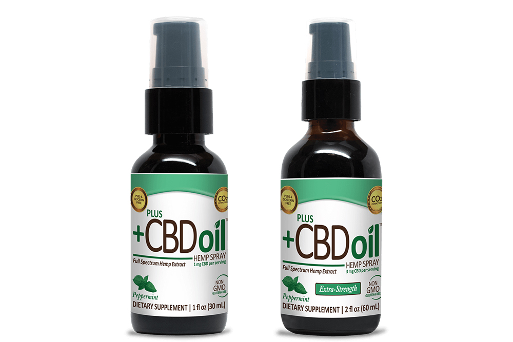 Plus CBD Oil Spray Peppermint 500mg 2oz ...cbdlivenatural.com·In stock