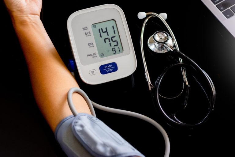 Lesiones cerebrales y presión arterial alta