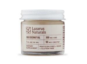 Olio di cocco al CBD - Lazarus Naturals